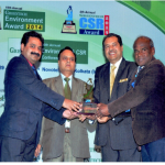 ANNUAL GREENTECH CSR AWARD 2014 SILVER AWARD in Consumer Products sector for outstanding achievement in CSR Initiatives by Greentech Foundation