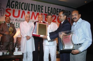 Corporate Leadership Award 2011 at the 4th Agriculture Leadership Summit 2011