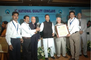 "Joint Winner of prestigious Quality Council of India (QCI) - D.L. Shah National Award on ""Economic of Quality"" under category B1 Large Scale Manufacturing Sector"
