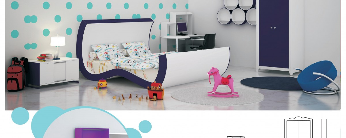 design for kids double bed room with master bed jacpl