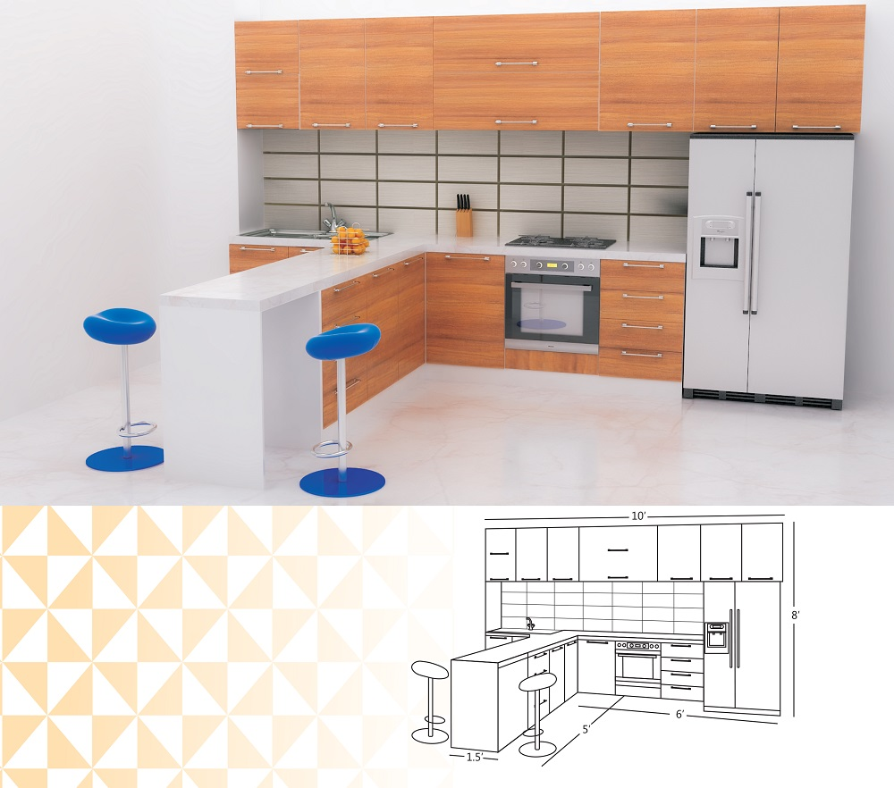 T Shaped Kitchen Design For Your Modern Home Jacpl