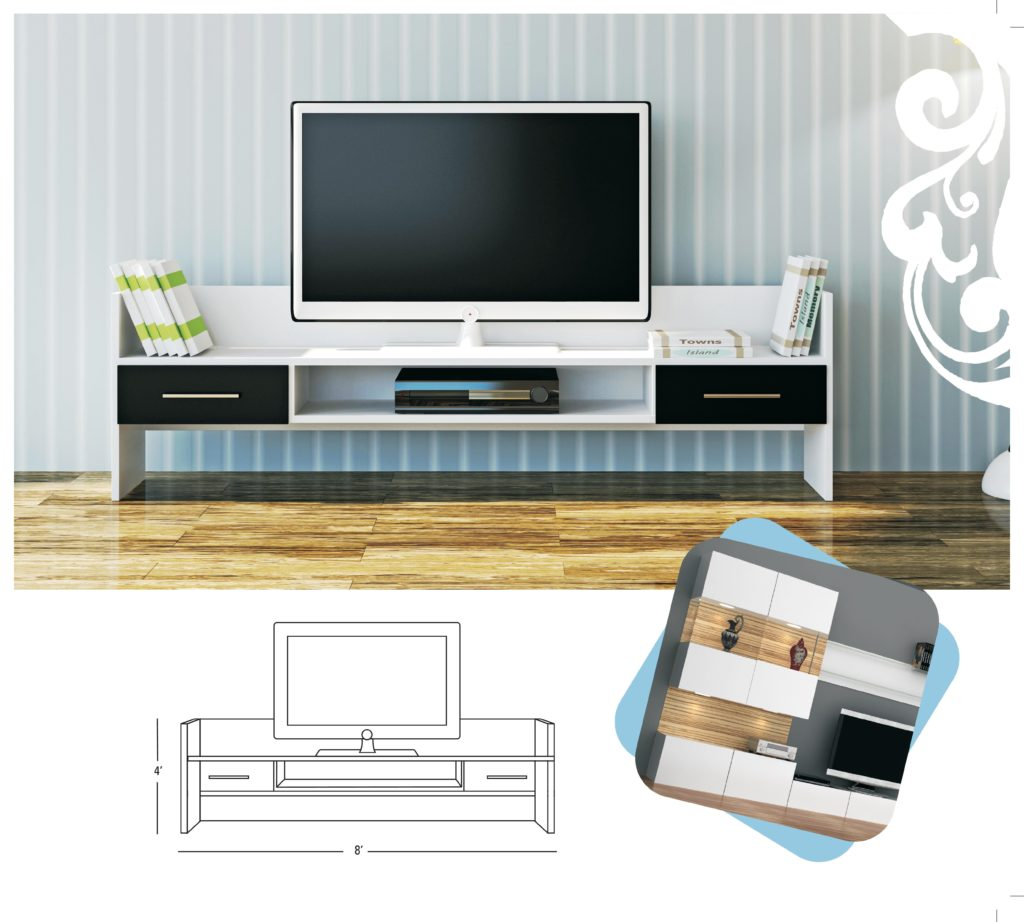 Modern TV Cabinet Design Ideas From Jubilant
