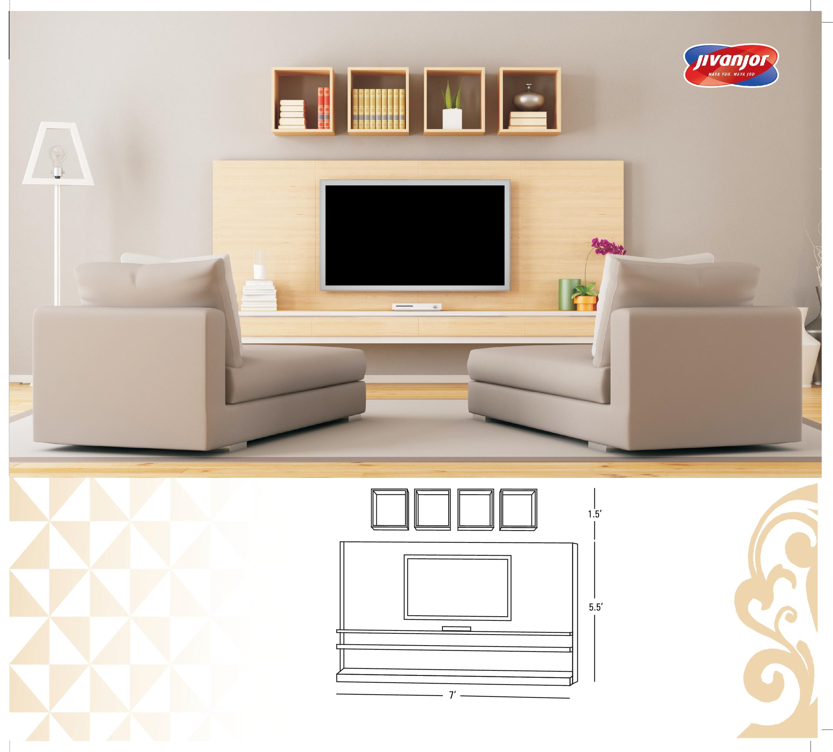 Modern tv cabinet design ideas from jubilant jacpl for Modern cupboard designs