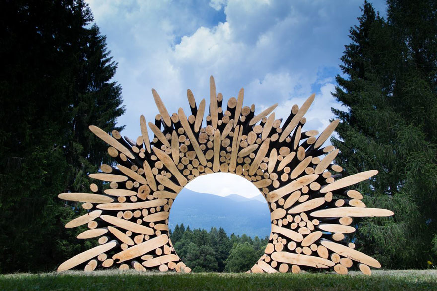 Tree Trunks to Stunning Wood Sculptures By Lee Jae Hyo 18
