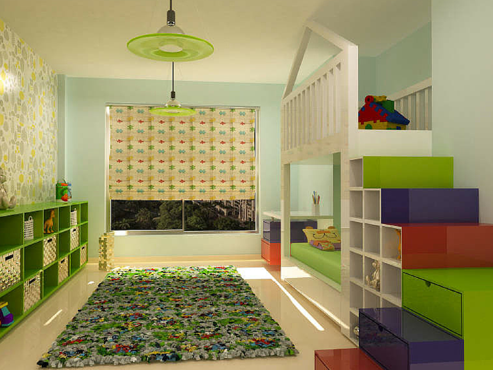 A Beautiful Kids Room by Nestopia and jubilant | JACPL