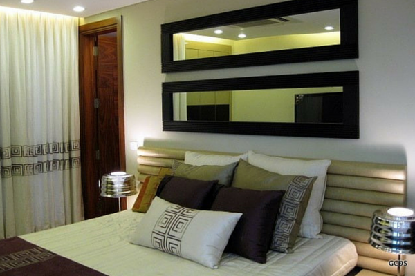 A Design of a Beautiful Bed Room by GC Design Studio