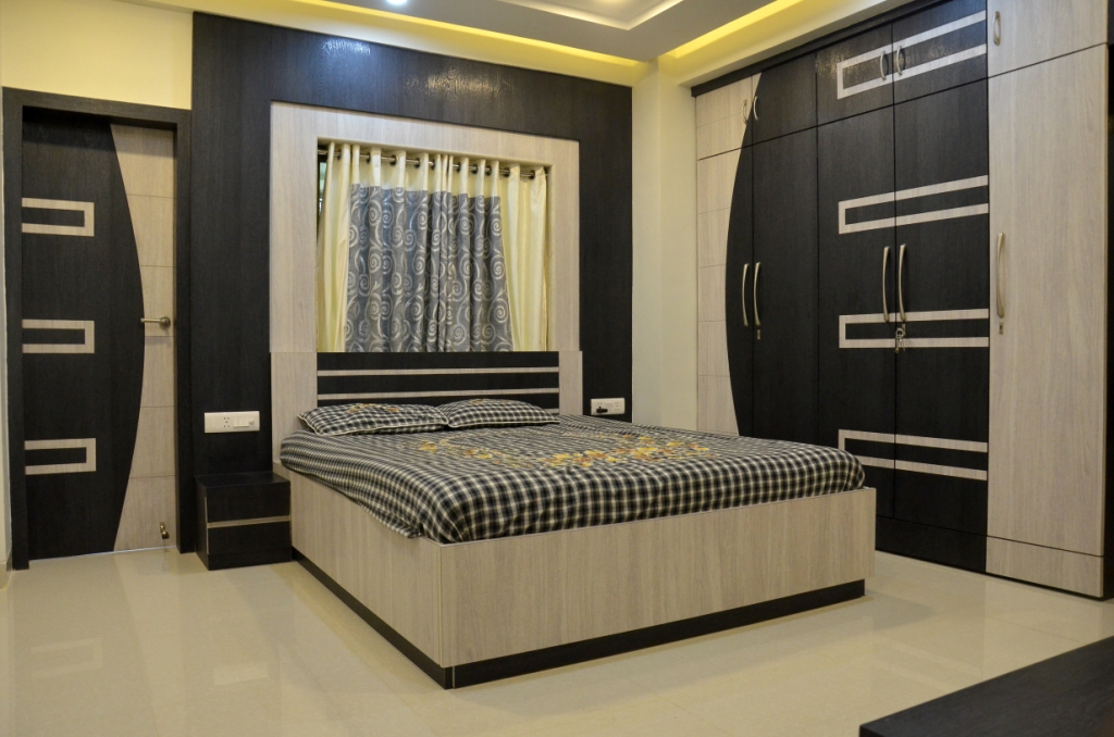 A Bed Room Design by Rajesh Sharma and jubilant | JACPL