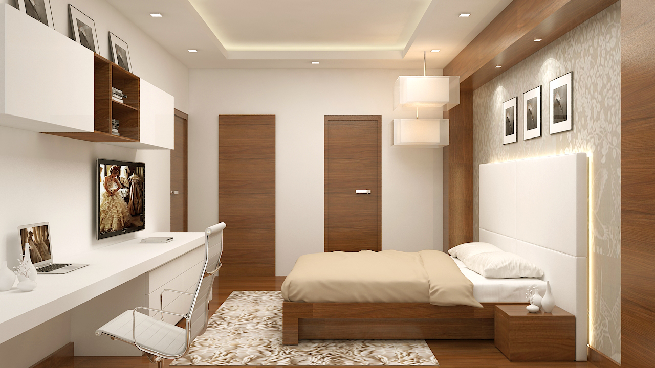 Design of a Beautiful Bed Room by Depanache Interiors