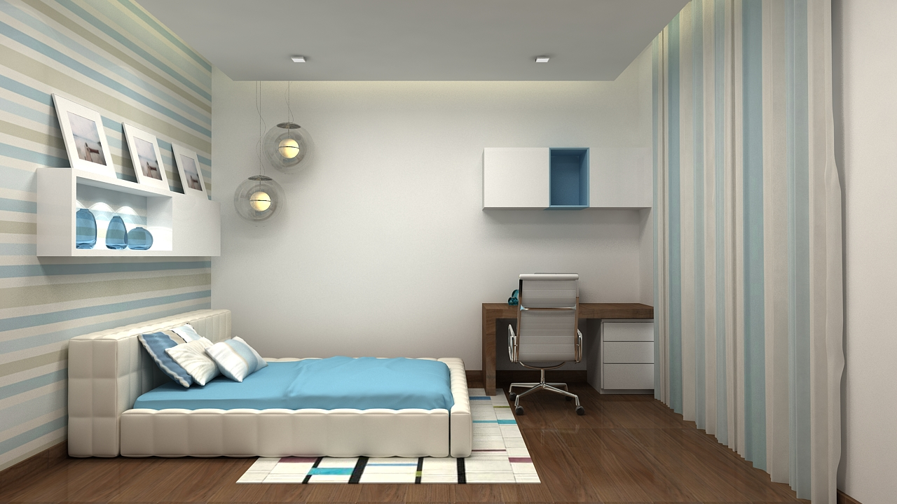 A Bed Room Design by Depanache Interiors