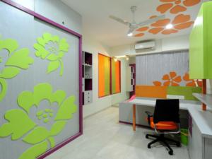 Design of a Kids Room by Architecture design art pvt ltd