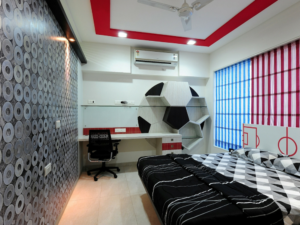 A Beautiful Kids Room Design by Architecture design art pvt ltd