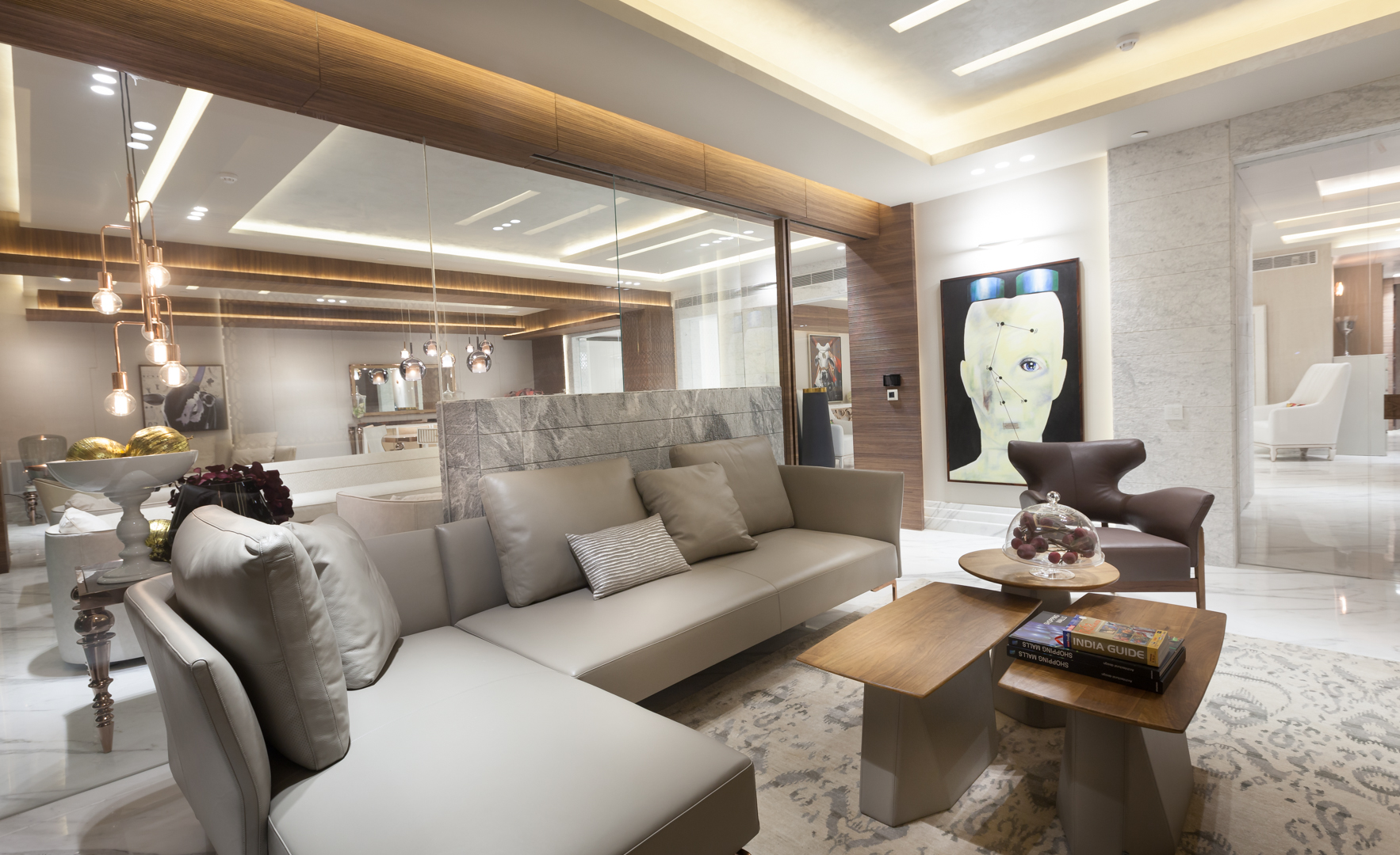 Design Of A Beautiful Living Room By Essentia Environments