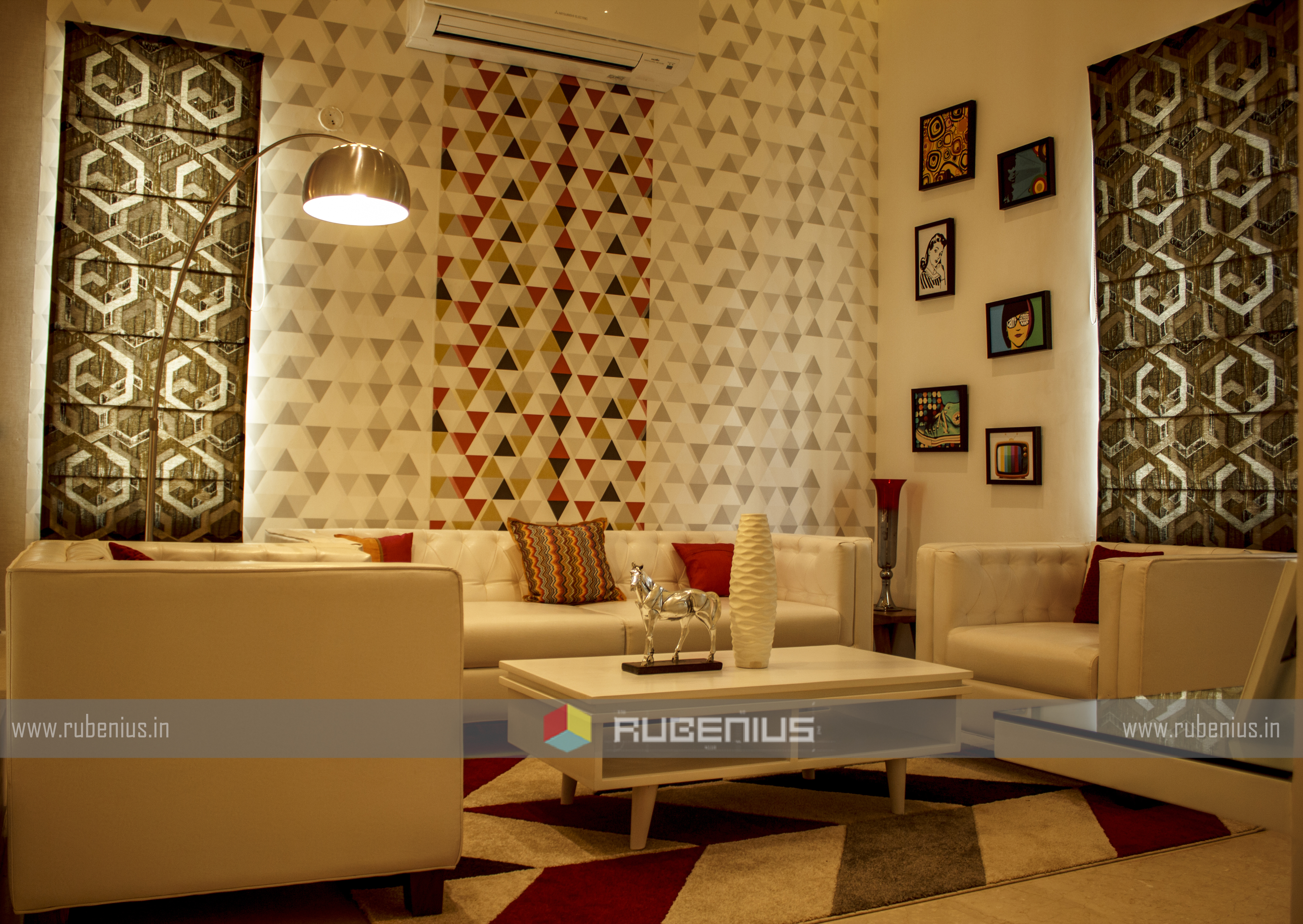 Design Of A Beautiful Living Room By Rubenius