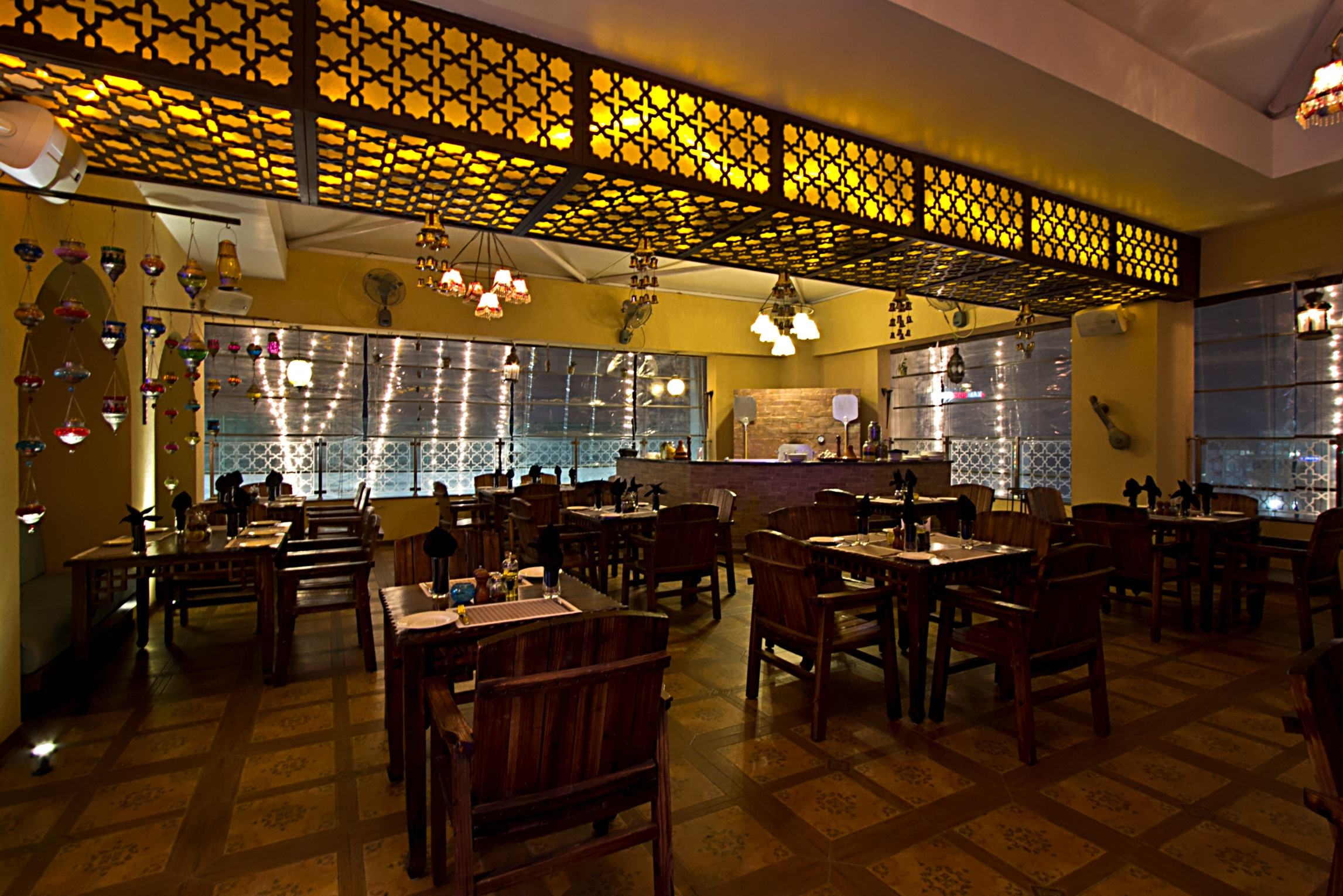 Design of a restaurant by architecture art pvt ltd