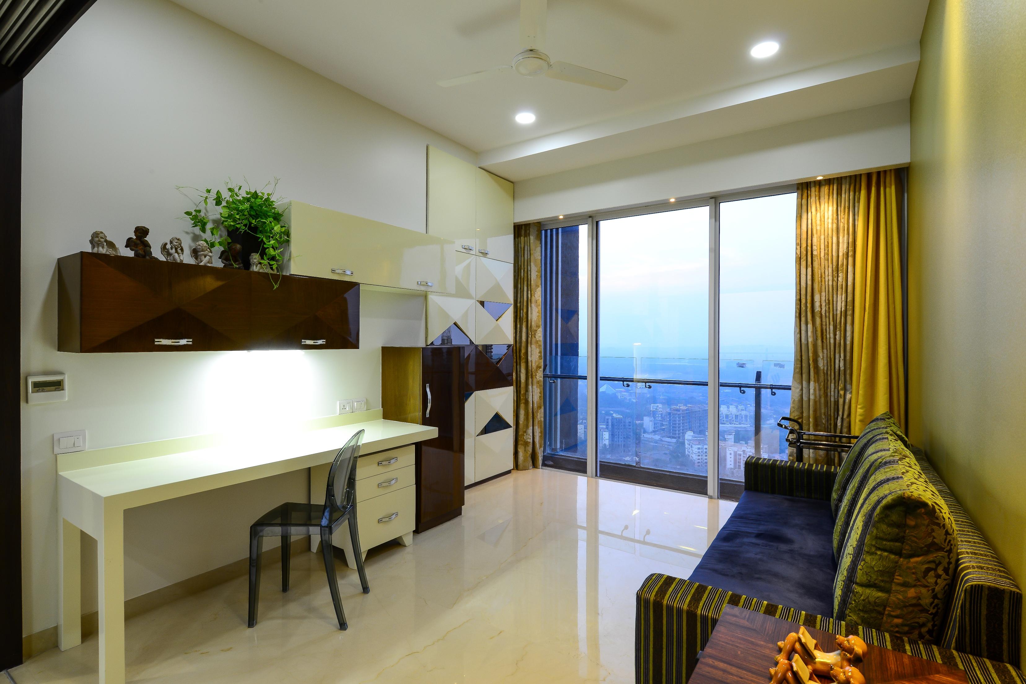 Design of a study room by architecture design art pvt ltd Architectural design ltd