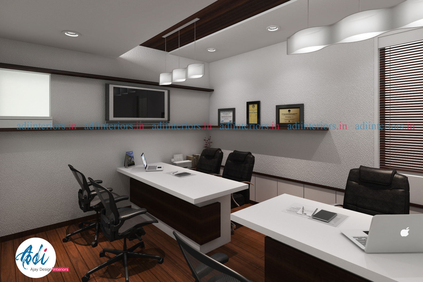 An Office Design By Ajay Design Interiors
