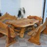 An Amazing Coffee Table for Rustic Charm & Natural Living