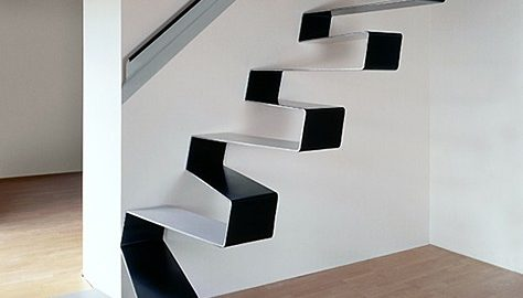 Rippling Ribon Staircase