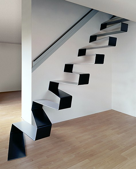 Rippling Ribbon Staircase