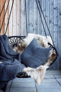Winter Outdoor Styling-A Complete Makeover-Rugs