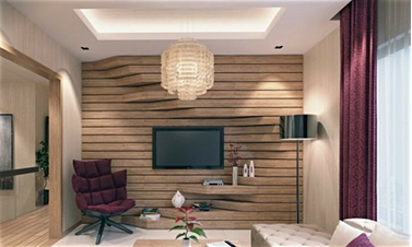 Wood Feature Wall For Innovative Home Design