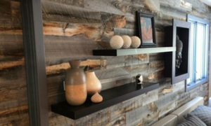 Wood Feature Wall For Innovative Home Design Jacpl