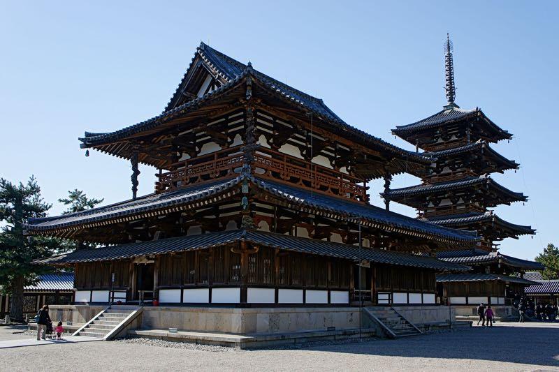 Japan Horyu-ji temple