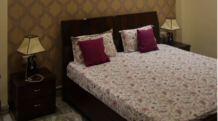 Bed Room Design by Space Interiors