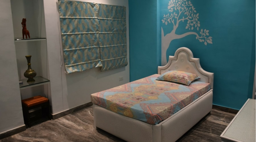 Design of a Bed Room by Space Interiors