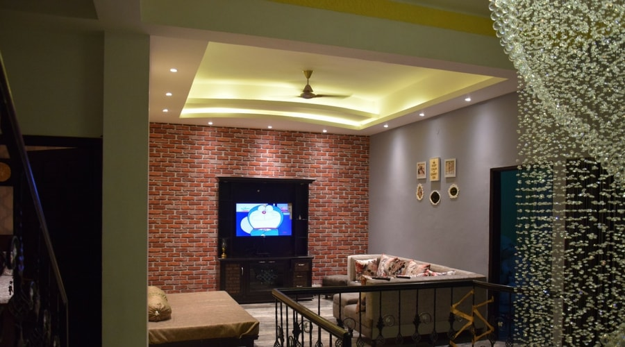 Design of a Living Room by Space Interiors